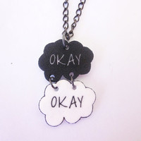 The Fault in Our Stars inspired necklace by SupposedlyCool on Etsy