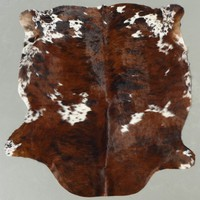 Brown Tricolor Brindle Cowhide Rug - cowhidesinternational.com