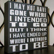 Painted Wooden primitive rustic Box sign Fun Funny Intended