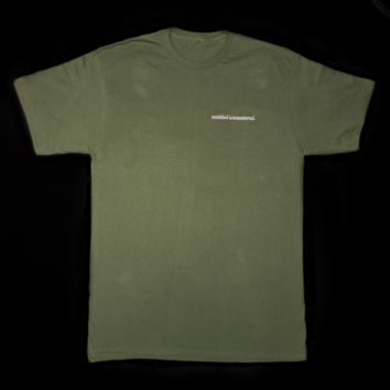 untitled unmastered. Classic Olive Tee