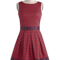 In the Pattern Mix Dress in Dots