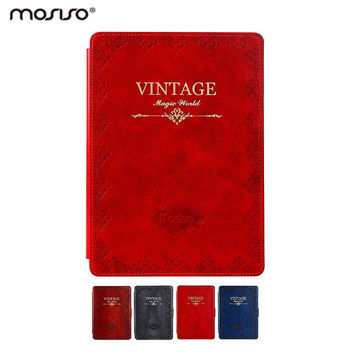 Mosiso Vintage Book Smart Case Cover for iPad Air 1 first generation Tablet Slim Multi angle Stand Sleeve Cover