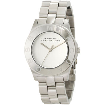 Marc by Marc Jacobs MBM3125 Women's Blade White Dial Stainless Steel Bracelet Watch
