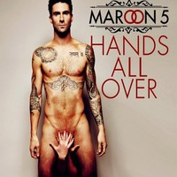 NBC The Voice Adam Levine Maroon 5 Hands All Over 8x10 Photo