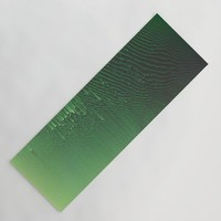Field of Green Yoga Mat by duckyb