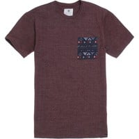 On The Byas Don Jacquard Crew T-Shirt - Mens Tee