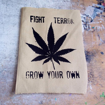 Fight Terror Grow Your own patch