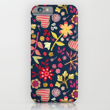 Wildflowers iPhone & iPod Case by Tangerine-Tane