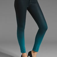 DL1961 x Bag Snob Emma Legging in Bali Teal Ombre from REVOLVEclothing.com