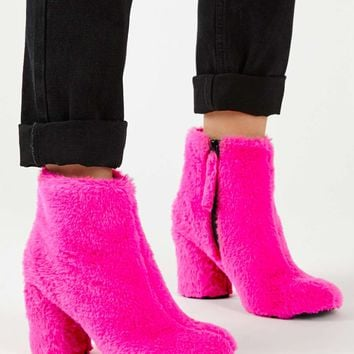 HAIRY-HARRY Faux Fur Ankle Boots | Topshop