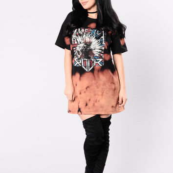 Rock 'N' Roll Dress - Black