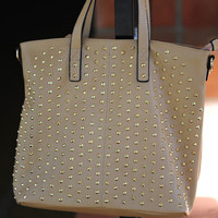 Sweetly Studded Purse: Camel | Hope's