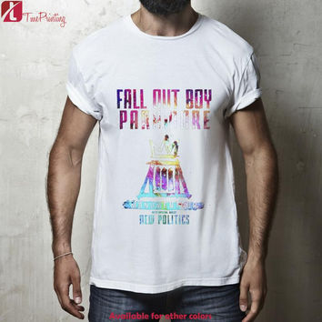 fall out boy paramore monumentour Logo for Men T-Shirt, Women T-Shirt, Unisex T-Shirt