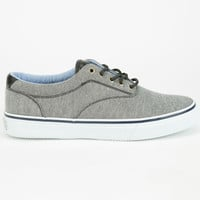 Sperry Top-Sider Striper Cvo Chambray Mens Shoes Black  In Sizes