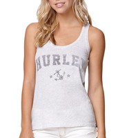Hurley Sail Away Tank - Womens Tee - Gray