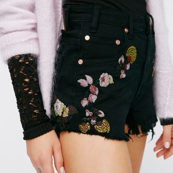 Free People Bird of Paradise Cutoffs
