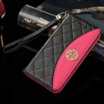 Tory Burch Phone Cover Case For Samsung Galaxy s8 s8Plus note 8 iphone 6 6s 6plus 6s-plus 7 7plus 8 8plus X-1