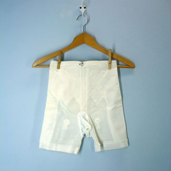 60s girdle long panty panties PLAYTEX garter belt lingerie small