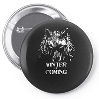 game of thrones direwolf winter is coming Pin-back button