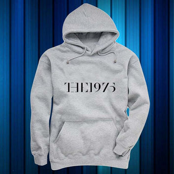 the 1975 Hoodies Hoodie Sweatshirt Sweater gray and beauty variant color for Unisex size
