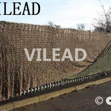 VILEAD 4M x 5M (13' x 16.5') Desert Digital Camo Netting Military Army Camouflage Net Shelter for Hunting Camping Car Cover Tent