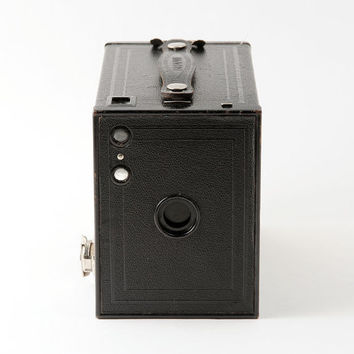 Kodak Brownie No. 2 Model F 120 Roll Film Box Camera Working 1930s