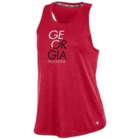 Georgia Bulldogs Women's Epic Traverse Tank | UGA Women's Tank Top | Georgia Bulldogs Ladies Tank Top