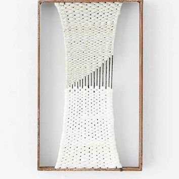 Stefanie Fuoco Rectangle Weaving - Silver One