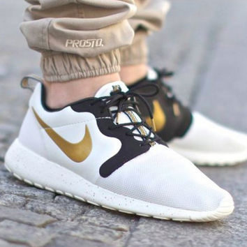 Nike Roshe Run Gold Trophy Hypervenom starry sky golden hook