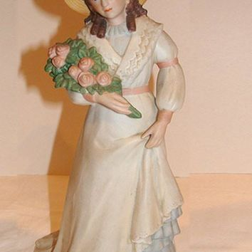 Homco Lady Figurine  #1468