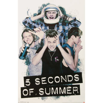 5 Seconds Of Summer - Domestic Poster