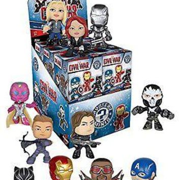 Funko Mystery Minis: Captain America Civil War Blind Box Vinyl Figure 2-pack