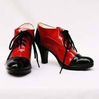 Black Butler Grell Sutcliff  Cosplay Shoes Custom made