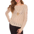 Arianna Knit Top - Taupe