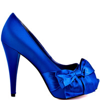 Paris Hilton - Destiny - Royal Blue Satin