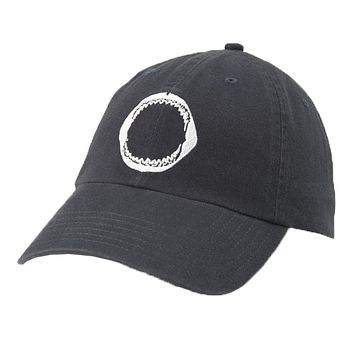 Shark Jaw Embroidered Hat in Dark Navy by Southern Tide