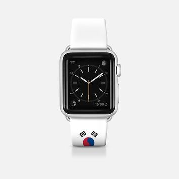 South Korea flag - Patriot collection Apple Watch Band (42mm)  by WAMDESIGN | Casetify