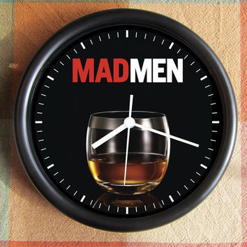 MAD MEN TV AmC Channel 60s Retro advertising 10 inch Resin Wall Clock 25.00