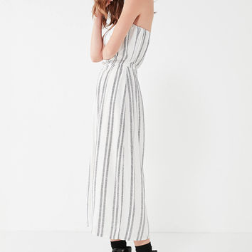 Silence + Noise Jackson Strapless Culotte Jumpsuit | Urban Outfitters