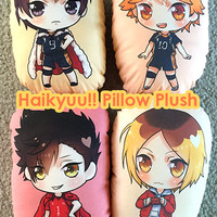 Haikyuu!! Double-Sided Pillow Plush