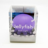 Violet Jellyfish Bath Light