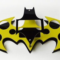Batman Vape Stand, Vape Stand, Custom Vape Stand, Vape Case, Vape Holder, Vape Pen Stand, Vape Mod Stand, Black and Yellow, Vape Organizer