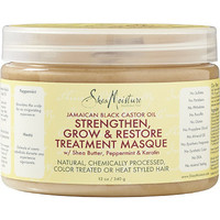 Jamaican Black Castor Oil Strengthen, Grow & Restore Treatment Masque