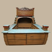 Warehouse Deal: Pirate Ship Bed