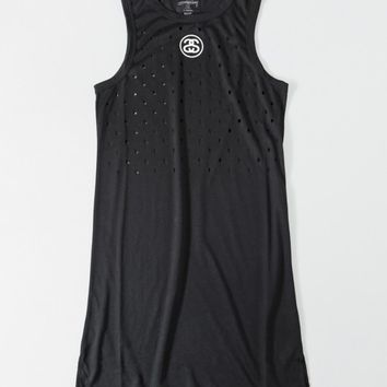 SS Dot Tank Dress