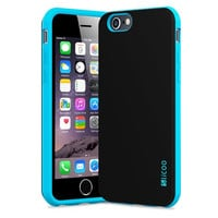 Slicoo Rubber and Plastic Protective Case for iPhone 6\6s
