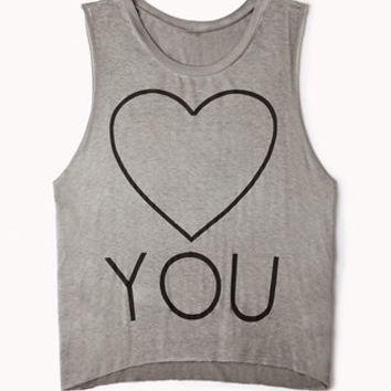 Heart You Muscle Tee