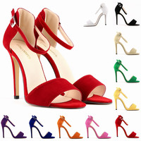 New Hot Summer Sale Candy Color High Heel Shoes