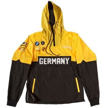 ONETOW Club Foreign Two Tone Germany Windbreaker Yellow & Black