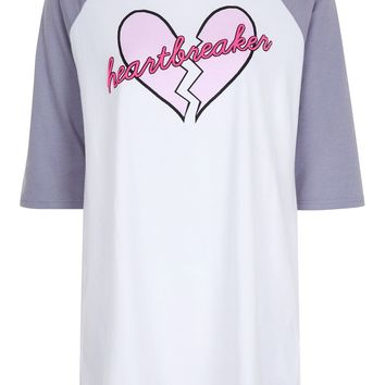 Heartbreaker Sleep T-Shirt | Topshop